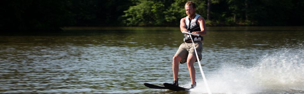 rhyme water skis, water skis, intermediate skis, rave sports, extreme sports, water sports