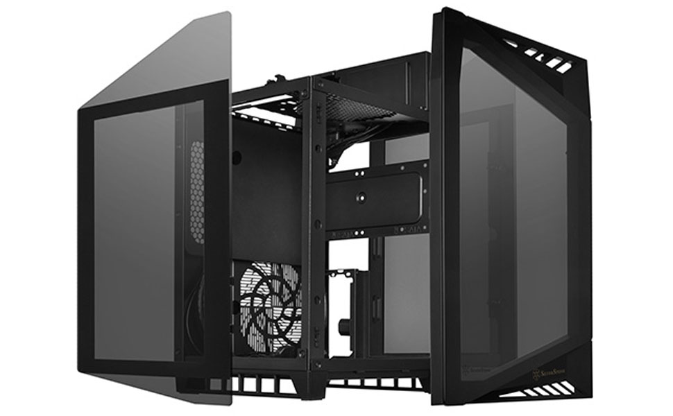 SilverStone Technology Mini-ITX Computer Case with Tempered Glass ...