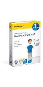 SteuerSparErklärung, Verpackung, 2019