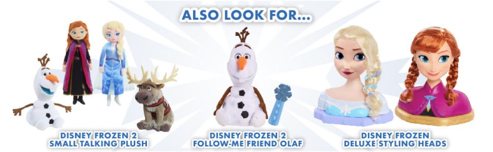 Disney Frozen 2 Small Talking Plush *Choose Your Favourite*