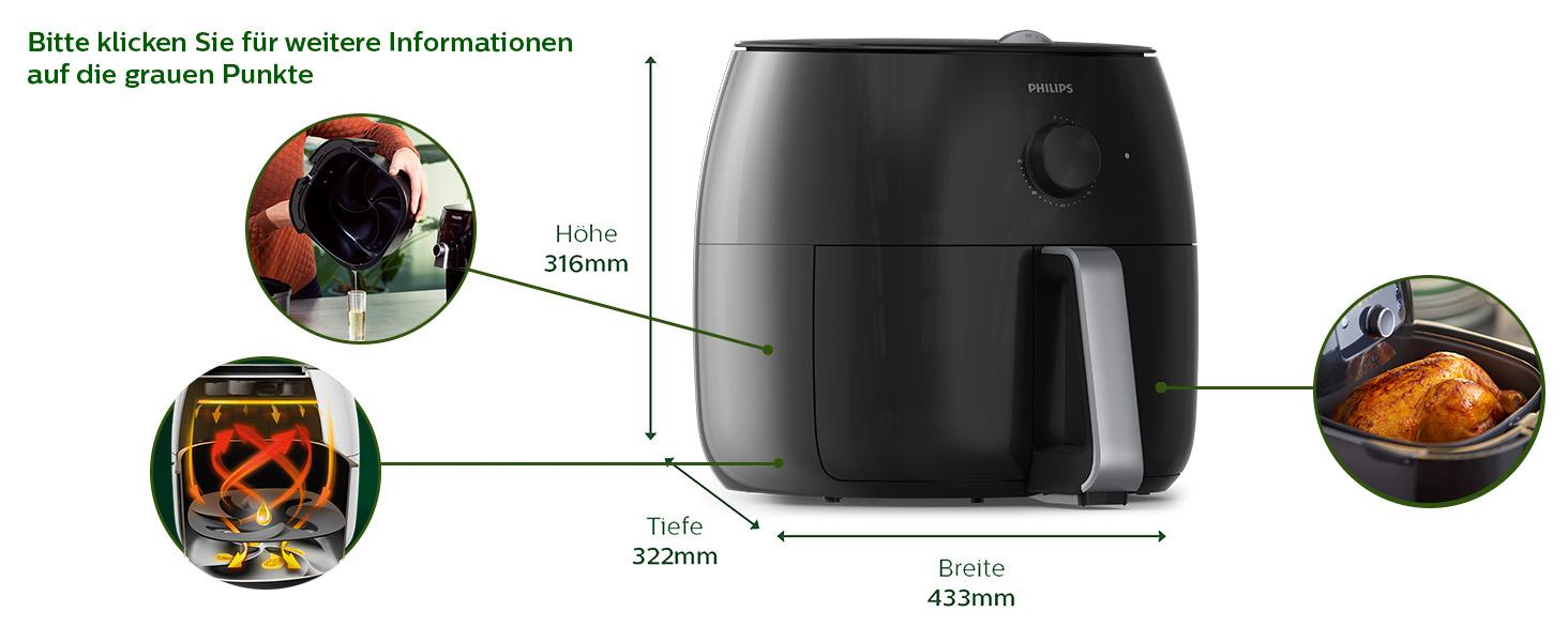 Tính năng HD9750 đen
