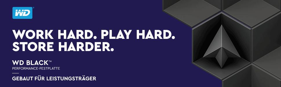 WD;Black;Festplatte;Gamer;Spielen;performance;Leistung