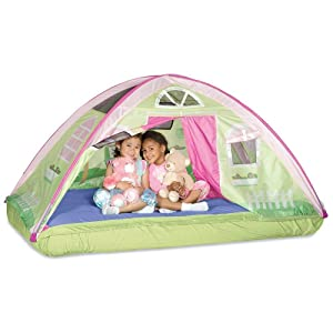 Pacific Play Tents Cottage Bed Tent - Full / Double Bed  sc 1 st  Amazon.com : kids bed tent full size - memphite.com