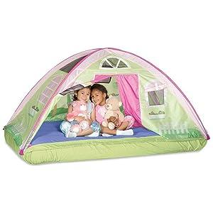 kids bed tent cottage