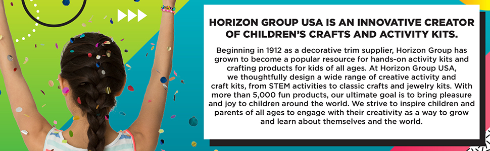 horizon group usa, activity kits, arts and crafts, explore, learn, grow, create, stem, steam