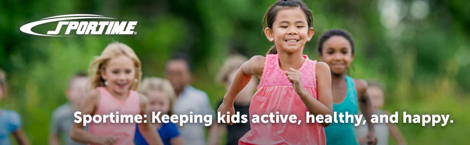 Sportime: Keeping kids active, healthy, and happy.