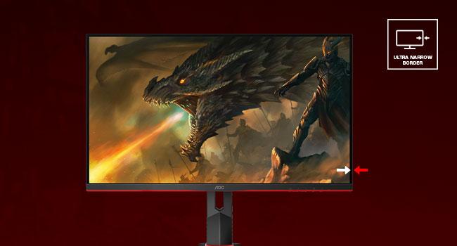 monitor gamer, monitor grande, aoc, aoc monitor, monitor 27