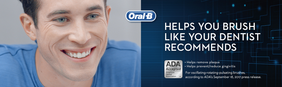 Helps you brush like your dentist recommends