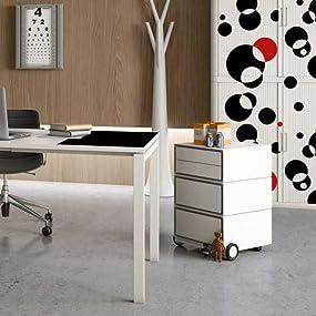 EasyBox 4-Drawer Mobile Pedestal