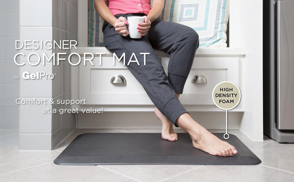 grasscloth, grey, stone, foam mat