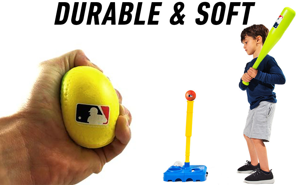 Details about  /Children/'s Fun and Strength Foam Soft Safety Sports Baseball Sporting Goods