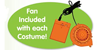inflatable costume fan, inflatable costumes