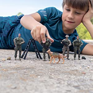 elite force figures for boys to play outside