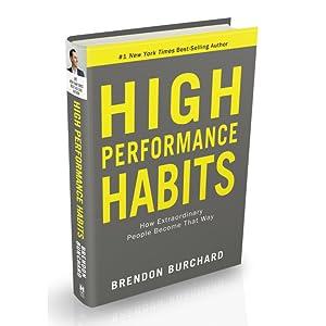 high performance habits brendon burchard