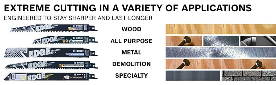 Extreme Cutting in a Variety of Applications