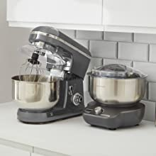 Morphy Richards 400520 MixStar Easy To Use Easy To store Compact Stand Mixer
