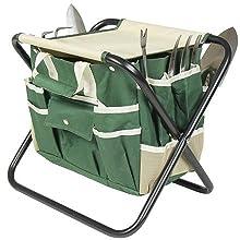 7 Piece Garden Tool Set And Tool Bag