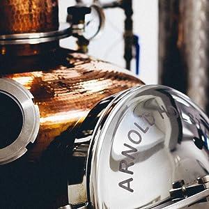 The Illusionist Dry Gin, Organic Gin, Blue Gin, Arnold Holstein, Distillery
