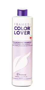 Framesi Color Lover Volume Boost Shampoo, lusciously lifting & strengthening your hair