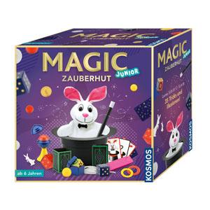 KOSMOS 680282 - Magic Zauberhut, Lerne einfach 35 Zaubertricks Zauberkasten für Kinder ab 6 Jahre
