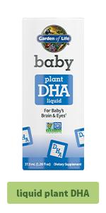 baby liquid plant DHA