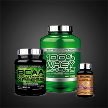 Scitec Nutrition 100% Whey Isolate con L-glutamina adicional, 2 kg, Chocolate