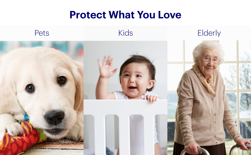 Canary Pro, home security camera, pet camera, babyphone, elderly care