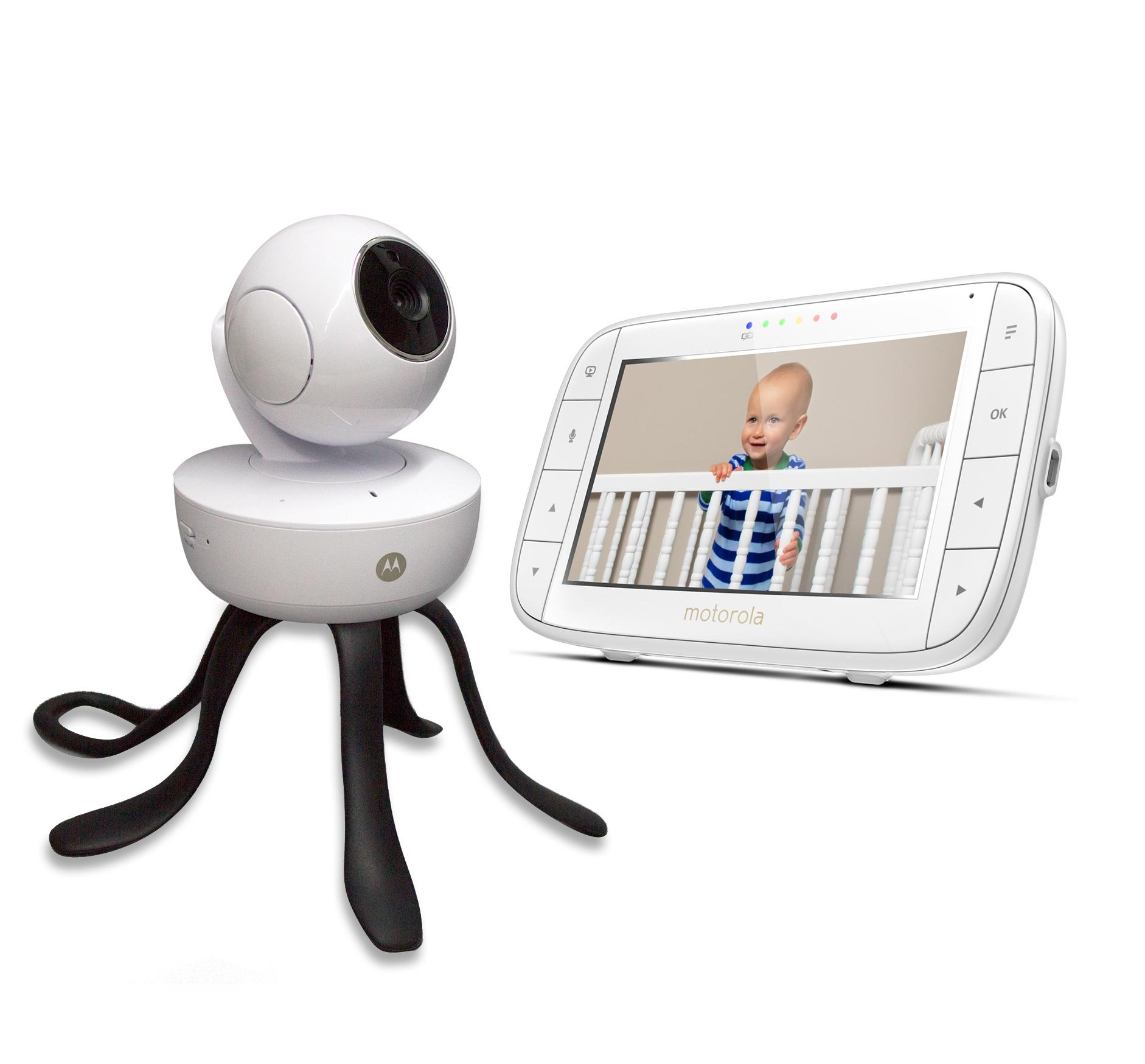"""Motorola 5"""" MBP855 Connect Video Baby Monitor With"""