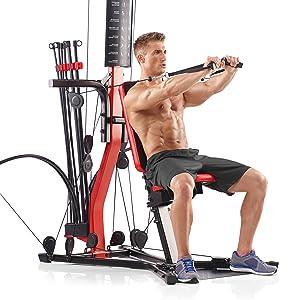 PR3000 Home Gym Bowflex Bowflx Power Rod Resistance Nautilus