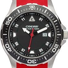 Cressi Manta ya es todo un clásico entre los relojes Cressi y sigue conservando su carácter firme aun habiéndose renovado con una amplia gama de colores, ...
