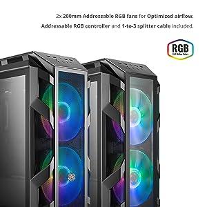 Addressable RGB Fans