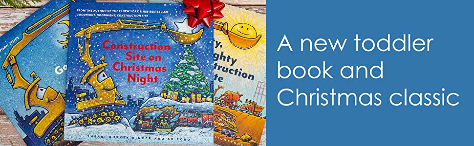 construction site on christmas night - Construction Site On Christmas Night: (Christmas Book For Kids, Children's Book, Holiday Picture Book)