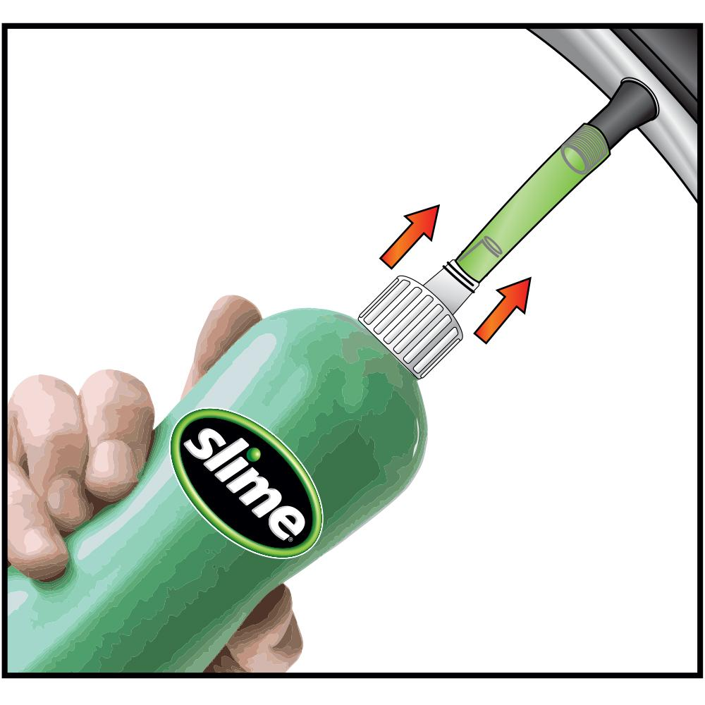 slime tire sealant how to use