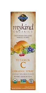 mykind Organics Vitamin C Organic Spray