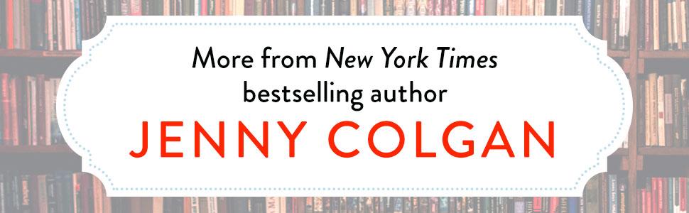 Jenny Colgan, Bookshops, Beaches, Women's Fiction, Book Clubs