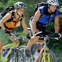 自転車、サイクリング、運動、バー、シリアル、ミューズリー