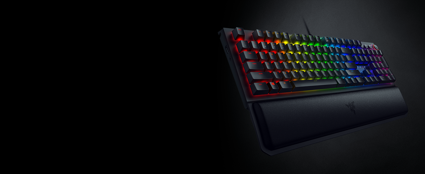 Razer Orbweaver Chroma Gaming Keypad: Mechanical Key Switches - 30  Programmable Keys - Customizable Chroma RGB Lighting - Programmable Macro