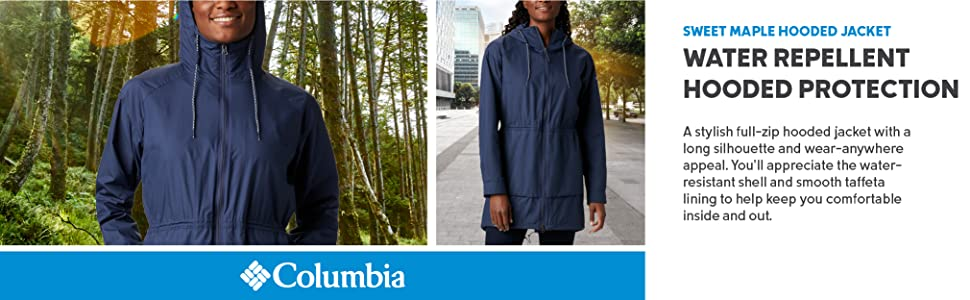 Columbia Women's Sweet Maple Hooded Jacket