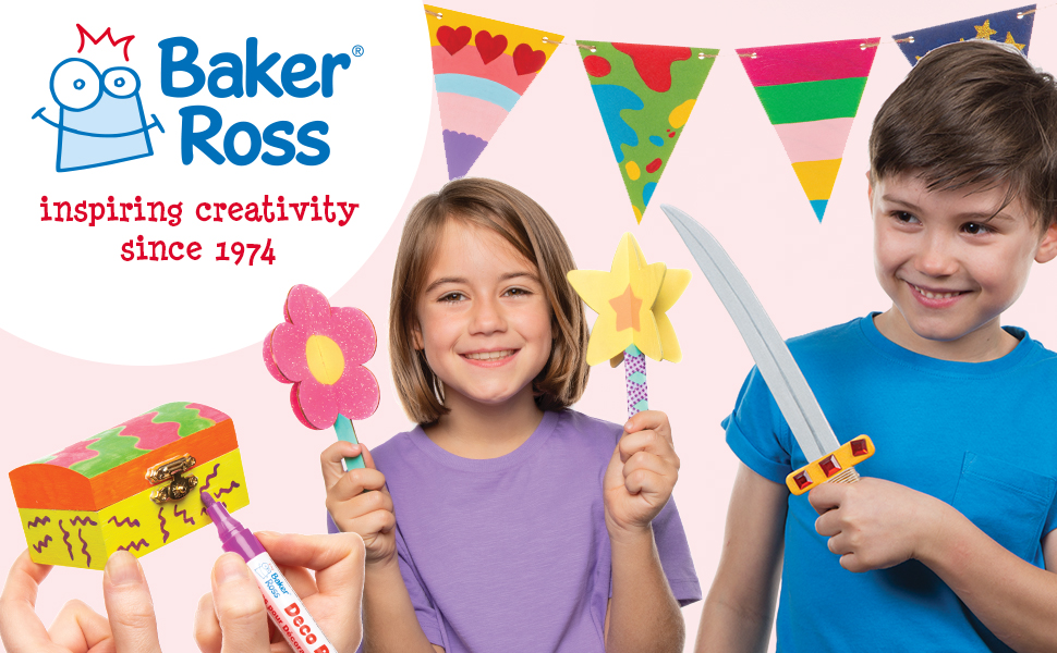 Baker Ross inspiring creativity since 1974