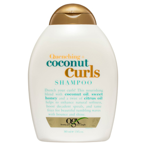 Ogx organic haircare shampoo conditioner best haircare products hair treatment curly hair coconut