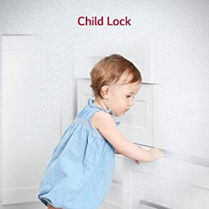 LG Child lock front load washing machine