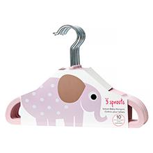 girl hanger elephant pink