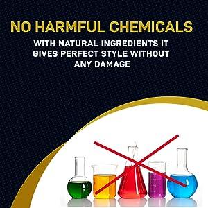 no harmful hair wax