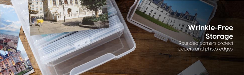 photo storage box, photo organizer case, photo organizer box, scrapbook case, scrapbooking case