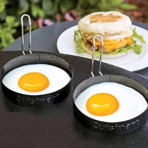 round rings egg sandwhich