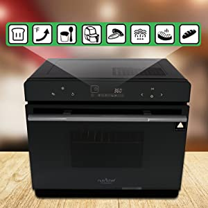 Amazon.com: Electric Countertop Multifunction Convection ...