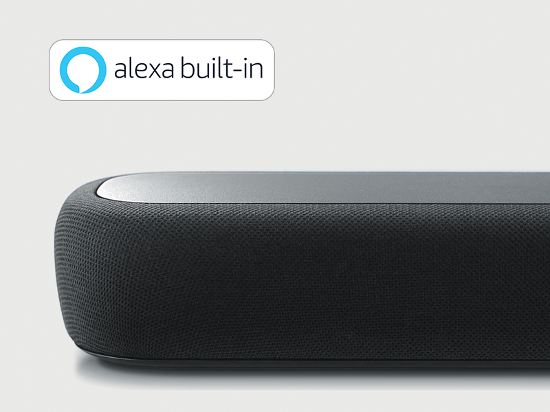 voice control, Alexa built-in, smart home, sound bar, home audio, Yamaha AV