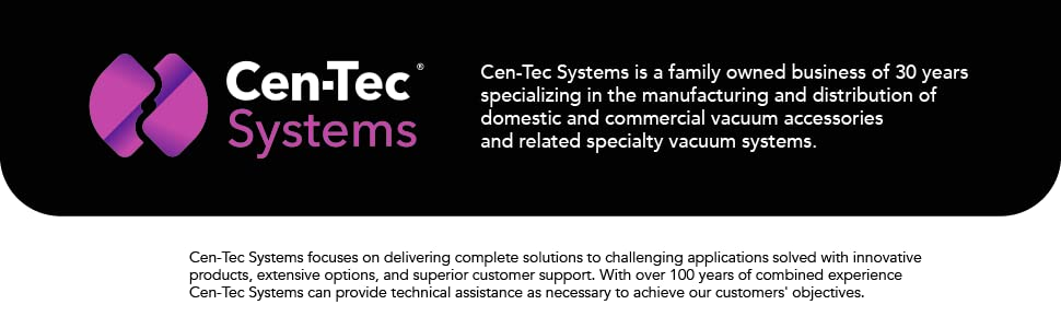Cen-Tec Systems Footer
