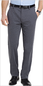 van heusen flex 3 knit pant, knit pants for men