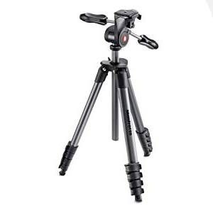 manfrotto compact;professional tripod;travel tripod;professional photography tripod
